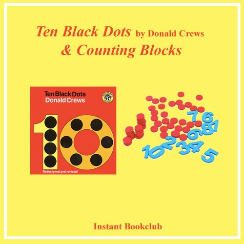 [인스턴트 북클럽] Ten Black Dots (Book + Counting Blocks), Donald Crews